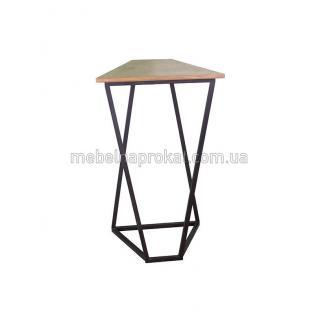 Барные столы Лофт черные