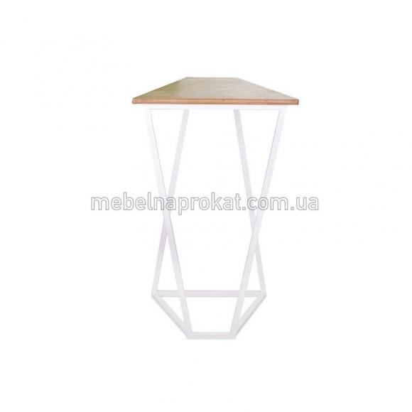 Барные столы Лофт белые