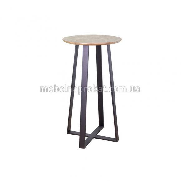 Барные столы Лофт круглые