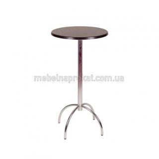 Круглые барные столы коричневые