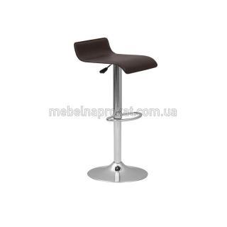 Черные барные стулья Волна