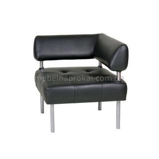 Секционный диван Офис черный