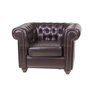 Кресла Честер коричневые