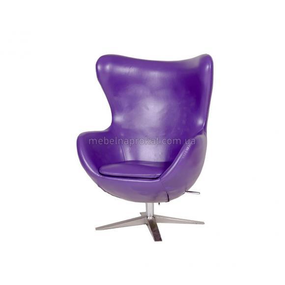 Дизайнерские кресла EGG фиолетовые
