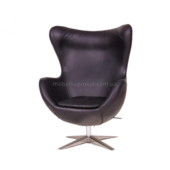 Дизайнерские кресла EGG черные аренда в Киеве