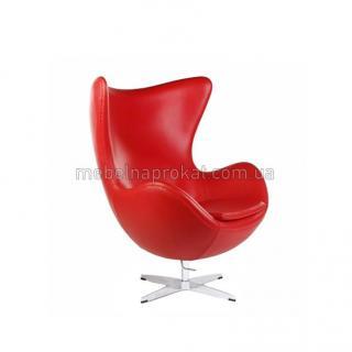 Дизайнерские кресла EGG красные