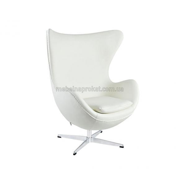 Дизайнерские кресла EGG белые