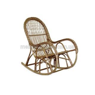 Кресло-качалка плетеная