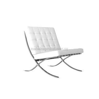 Кресла Барселона белые