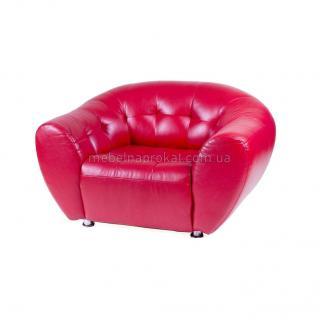 Кресло Магнат красное