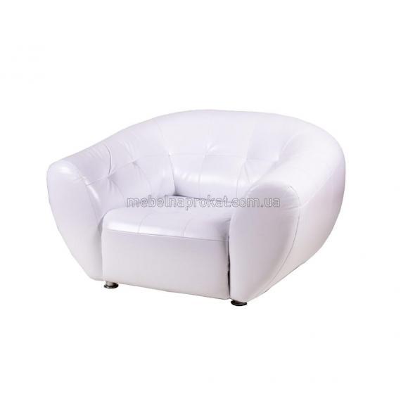 Кресло Магнат белое