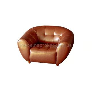 Кресло Магнат коричневое