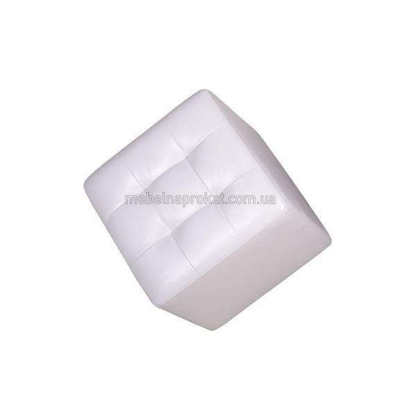 Пуфы 45х45 см белые
