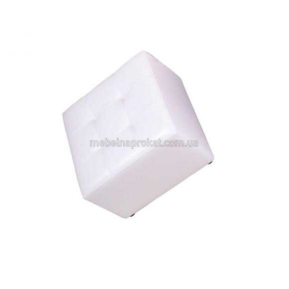 Пуфы 60х60 см белые