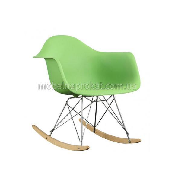 Кресло-качалка Tower салатовое