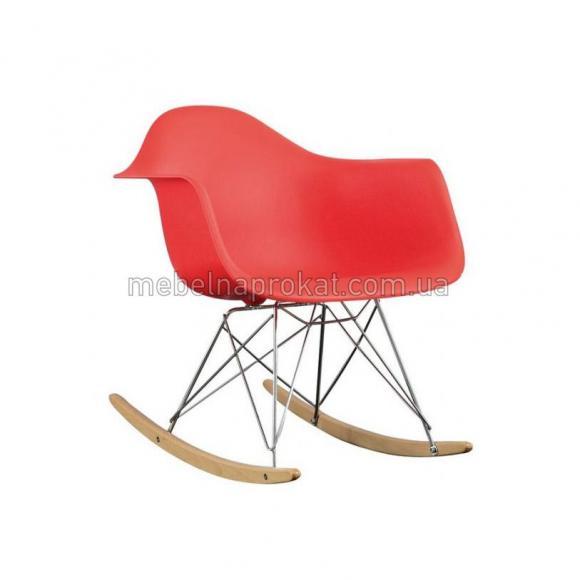 Кресло-качалка Tower красное