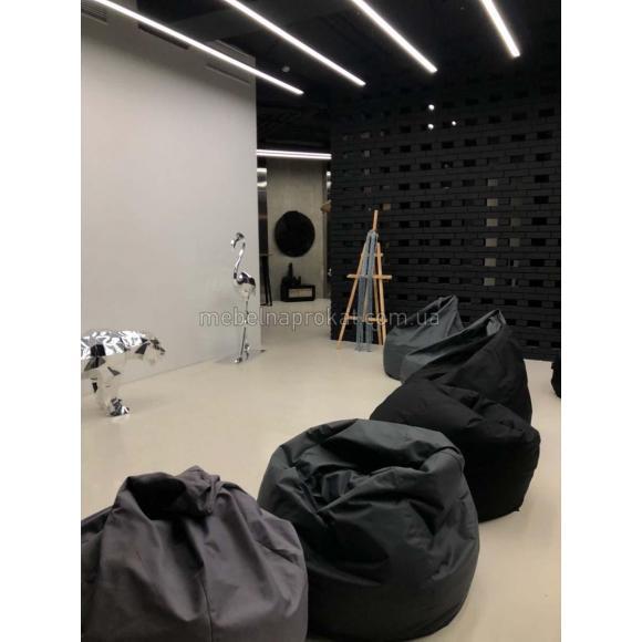 Кресла-мешки цветные аренда в Киеве