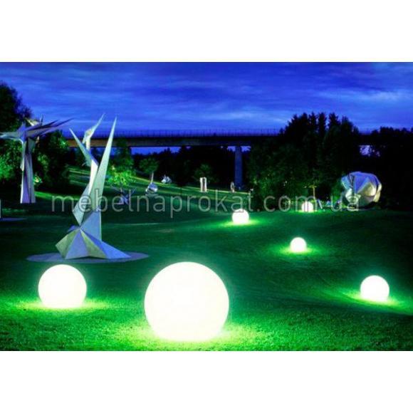 Шар с LED подсветкой