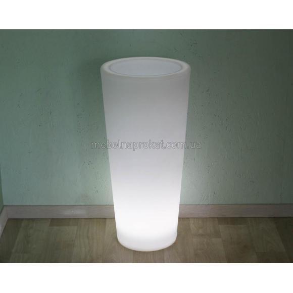 Ваза для цветов с LED подсветкой