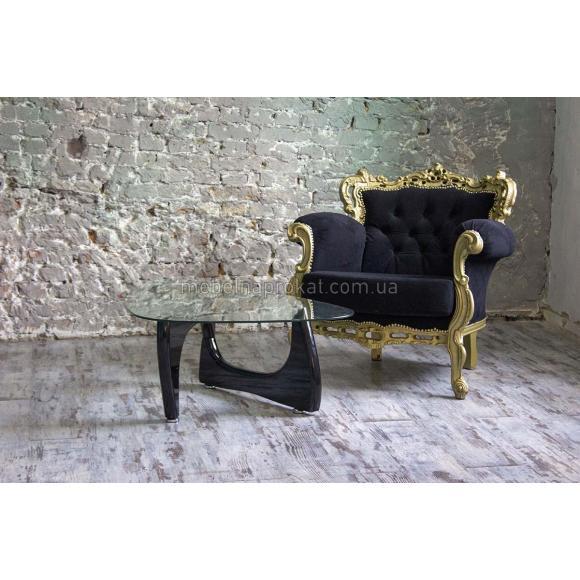 Кресло Барокко черное
