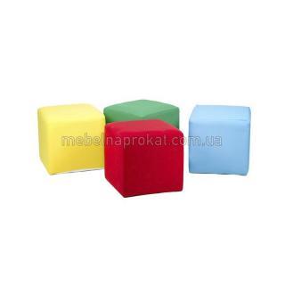 Пуфы тканевые в цветных чехлах