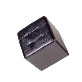 Пуфы 45х45 см черные