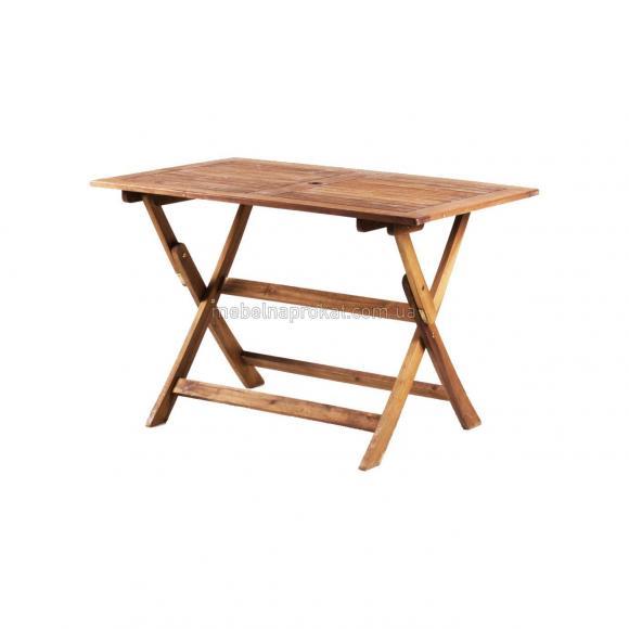 Садовые столы Меранти коричневые