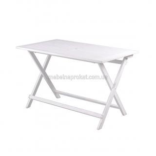 Садовые столы Меранти белые