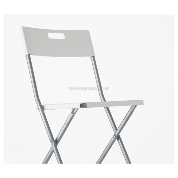 Складные стулья Икеа белые