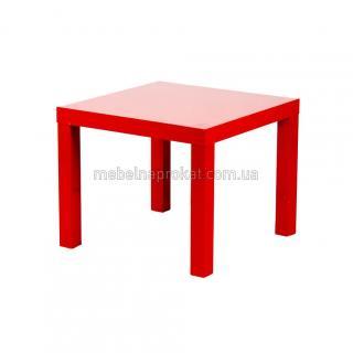 Кофейный столик икеа красный